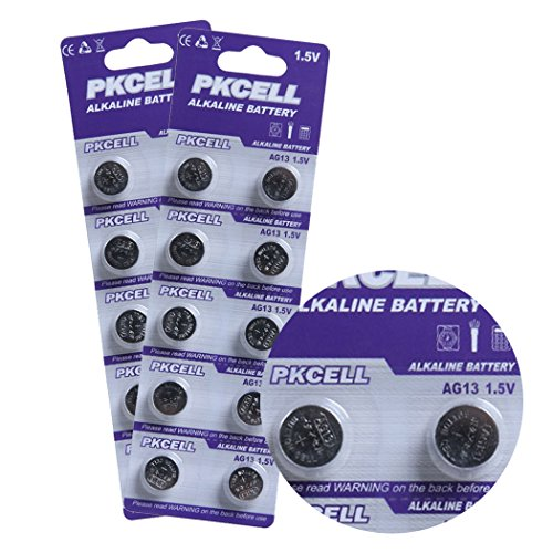 PKCELL AG13 LR44 SR44 SR44W 157 357 кнопки сотового Часы Аккумуляторы Упаковка из 20