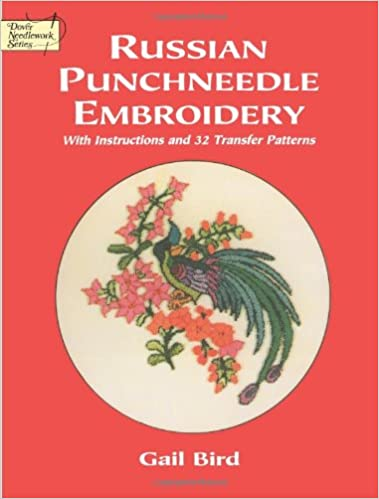 Buy Russian Punch Needle Embroidery Instructions And 56 Transfers