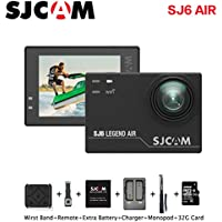 SJCAM SJ6 Sports Action Video Camera, 1080P Waterproof Camcorder with Mount of Accessories, Black
