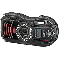 RICOH 08542 16.0 Megapixel WG-4 GPS Waterproof Digital Camera (Black US/CA) (International Model)