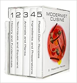 Modernist cuisine the art and science of cooking nathan for Amazon modernist cuisine at home