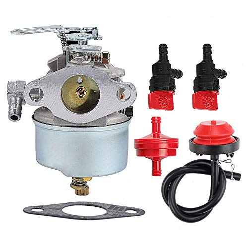 Harbot 632113A 632113 Carburetor Fit Tecumseh HS40 HSSK40 Engine Toro 38250 38010 38015 Snowblower with Fuel Filter Repower -