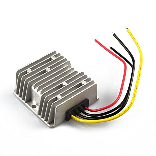 ZIUMIER DC to DC 48V to 12V Step Down Buck Converter Voltage Reducer,10A 120W Waterproof Voltage Regulator Module for Golf Cart,Club Car, LED Display,Motor and All Other 12V Devices