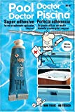 Pool Doctor underwater adhesive sealant fast cure 30ml/1.0 oz tube white