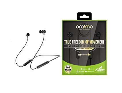 5ecc8040249 Oraimo Sports Wireless On-Ear Bluetooth Headphones: Amazon.in: Electronics