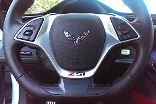 corvette-c7-z51-vinyl-decal-for-steering-wheel-red-and-black