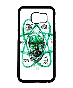 Cool Design Breaking Bad Galaxy S6 Case TV Print Hard Back Case Cover for Samsung Galaxy S6