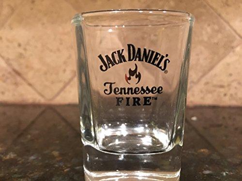 Jack Daniel's Tennessee Fire Shot Glasses (Set of 2)