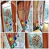 H&D Crystal Glass Suncatcher Chakra Colors Ball