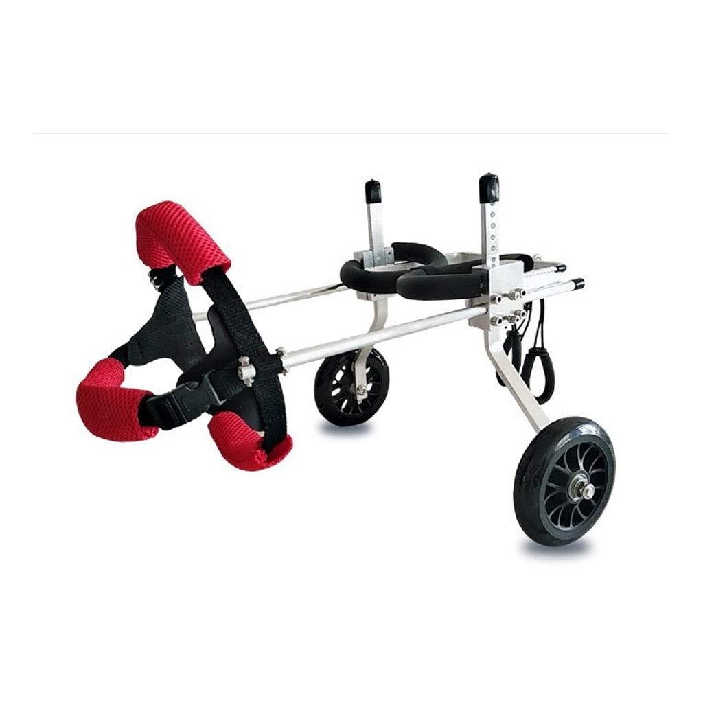 M FFLSDR Dog Wheelchair, Small Dog Hind Leg Bracket Wheelchair, Disabled Dog Hind Leg Assist, Multi-size Optional (Size   M)