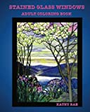 Stained Glass Windows: Adult Coloring Book of Various Stained Glass Windows (Adult Coloring Books) (Volume 2)