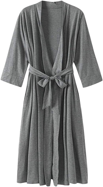 Pijama Kimono Mujer Bata Corto Ropa de Dormir Algodón Verano Batas ...