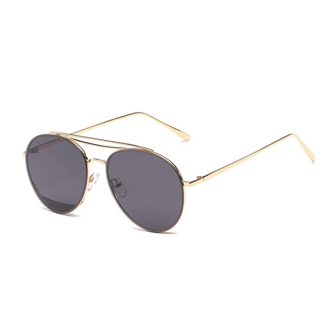 Amazon.com: MAOLEN - Gafas de sol con marco metálico ...