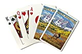 Rocky Mountain National Park, Colorado - Maroon Bells (Playing Card Deck - 52 Card Poker Size with Jokers)