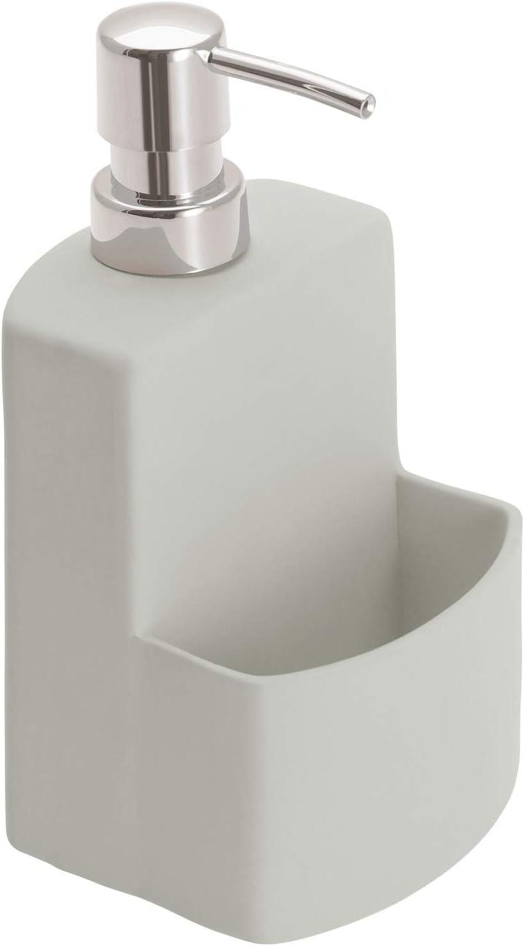 Wenko Festive - Dosificador de líquido lavavajillas, color gris