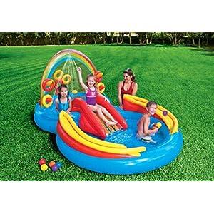 Intex 57453NP billar para niños – Billares para niños (Multicolor, Forma de 8, 428 L, 2970 mm, 1930 mm, 1350 mm) , color/modelo surtido