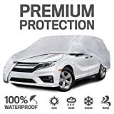 Motor Trend CV00-C3 XL-Fits Cover (7-Series Defender Pro Waterproof for All Weather-Snow Wind Rain & Sun-Heavy for Vans SUVs Crossovers Up to 225')
