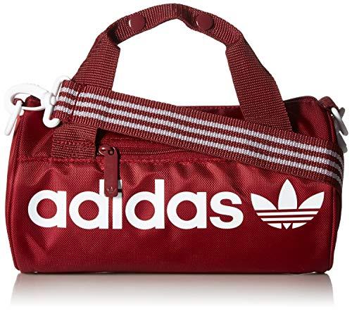 adidas Originals Santiago Mini Duffel Bag, Collegiate Burgundy, One Size