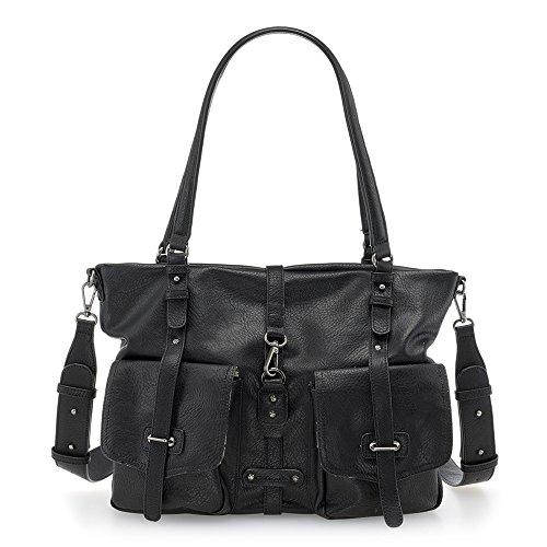 Bernadette Tamaris Noir Shopping Cartables Bag 0HOHxR