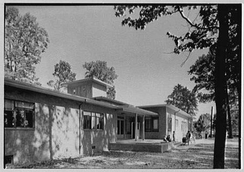 Photo: Bellmawr Homes,Camden,New Jersey. Community house,rear