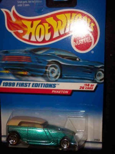 1999 First Editions -#14 Phaeton #916 Mint by Hot Wheels