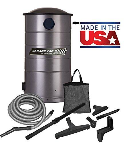 VacuMaid GV30 Mounted Garage Vacuum product image
