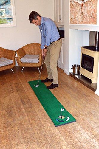 2465803-PGA-Tour-Tappetino-da-allenamento-da-183-cm-con-pallina-guida-e-consig miniatura 3