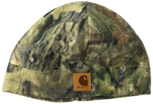 Carhartt Men's Camo Fleece Hat, Mossy Oak Break up Country, OFA