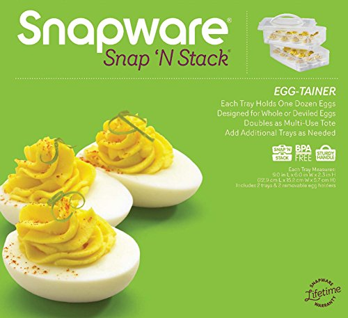 Egg trays for deviled eggs with lid