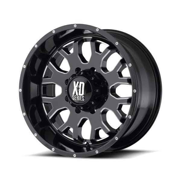XD-Series-by-KMC-Wheels-XD808-Menace-Gloss-Black-Wheel-With-Milled-Accents-18x95x150mm-0mm-offset