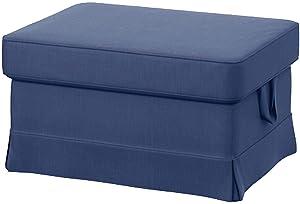 Amazon.com: The Heavy Cotton Ektorp 3 Seat Sofa Cover ...