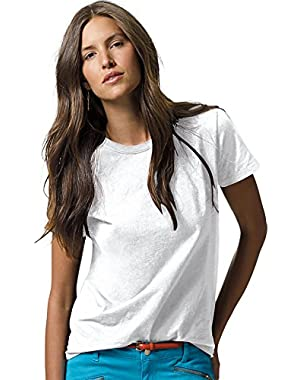 Hanes Women`s Relaxed Fit Jersey ComfortSoft® Crewneck T-Shirt