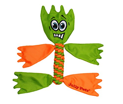 Jolly Pets Flathead Tug/Squeak Toy, Medium