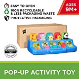 Playskool Play Favorites Busy Poppin Pals, Pop Up Activity, Ages 9 months and up (Amazon Exclusive)