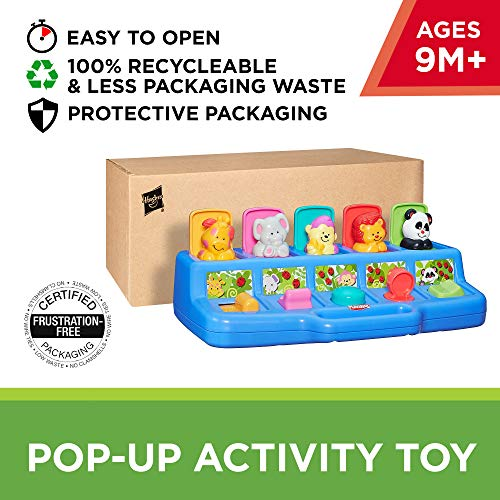 Playskool Play Favorites Busy Poppin' Pals, Pop Up Activity, Ages 9 months and up (Amazon Exclusive) by Playskool (Image #1)