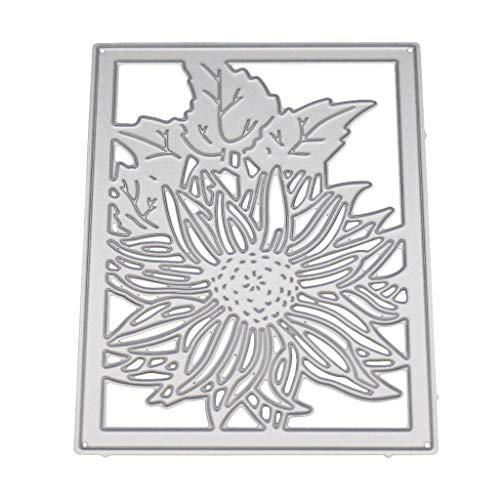 JAGENIE Flower Background Metal Cutting Dies Stencil DIY Scrapbooking Album Stamp Paper Card Embossing Craft Decor