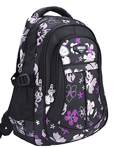 (MAYZERO Waterproof Backpacks Bags Durable Travel Camping Backpack for Boys and Girls)