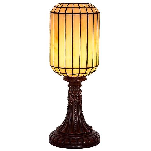 Rayem Lámpara de Mesa Estilo Tiffany, lámpara de Escritorio ...