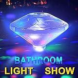 LKTINA Waterproof Swimming Pool Lights, Baby Bath Lights The Tub(7 Lighting Modes), Pond