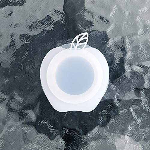 DGQ Extra Large 2 Silicon Umbrella Table Hole Cap – Apple Shape Patio Table Umbrella Thicker Hole Ring Plug and Cap Set
