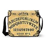 Ouija Board Mens Womens Messenger Bag Cross Body Shoulder Bag Oxford Fabric