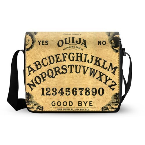 Ouija Board Mens Womens Messenger Bag Cross Body Shoulder Bag Oxford Fabric by WECE