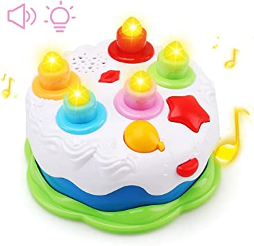 Brilliant Amy Benton Kids Birthday Cake Toy For Baby Toddlers With Personalised Birthday Cards Veneteletsinfo