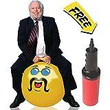 WALIKI TOYS Yellow Adult Size Hopper Hoppity Hippity Ball: LIKE A BOSS