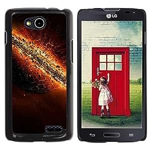 Be Good Phone Accessory // Dura Cáscara cubierta Protectora Caso Carcasa Funda de Protección para LG OPTIMUS L90 / D415 // The destruction of Earth