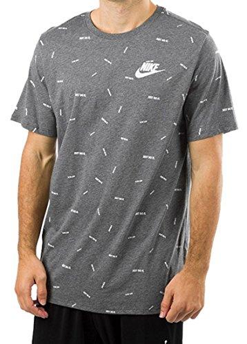 Nike Maglietta Maglietta Uomo Nike 891878 Uomo Grigio Grigio 891878 4xgBWxnA6