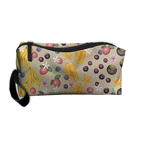 Portable Travel Storage Bags Mango Clutch Wallets Pouch