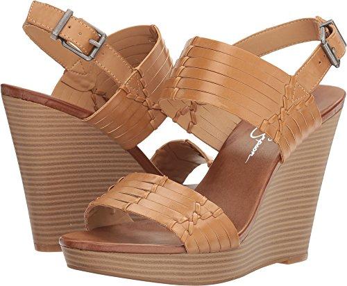 Jessica Simpson Women's Jayleesa Wedge Sandal, Buff, 10 Medium US - Jessica Simpson Slingback Shoes