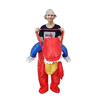 Deanyi Adulto Dinosaurio de Halloween Cosplay del Traje de ...