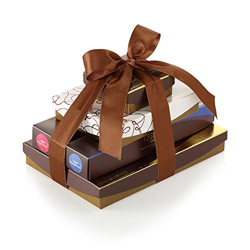 Godiva Chocolatier Totally Truffles Chocolate Gift Tower